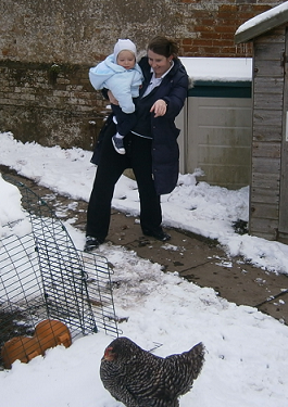 Holmsdale Manor Nursery Ibstock Staff outside